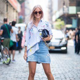 Jeansröcke Damen