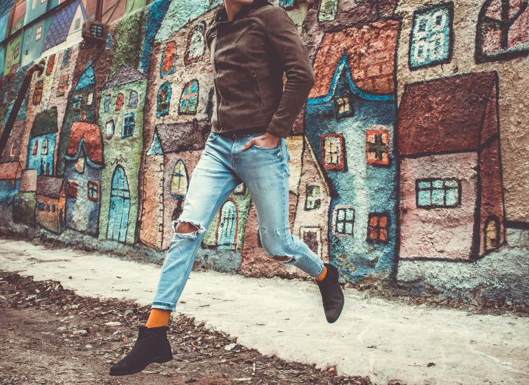 Männer Style Schuhtrends