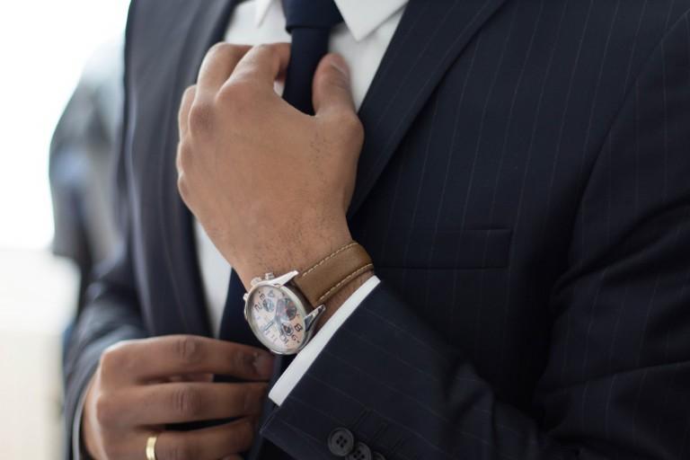 Krawatten binden Anleitung