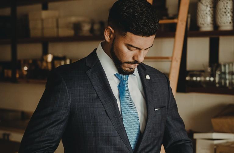 Krawatte binden Anleitung