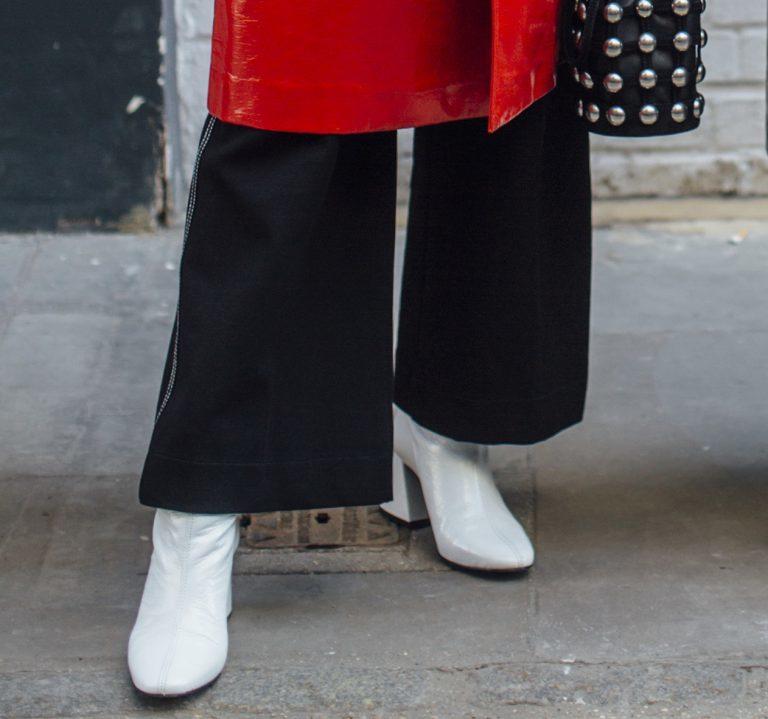 Welche Schuhe zu weiten Hosen