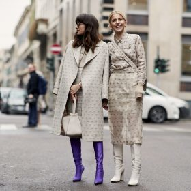 Kleid mit Stiefel - diese Stiefel passen zum Kleid