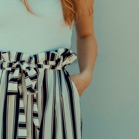Weite 7/8 Hose Damen - die Culotte Hose