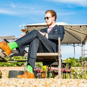 Welche Socken zum Anzug