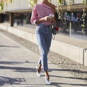 Cropped Jeans Damen