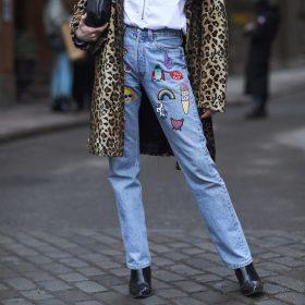 Straight Leg Jeans Damen