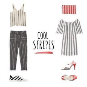 Oh là là: Streifen Looks