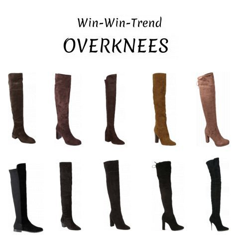 Fashion Statement: Overknee Boots!