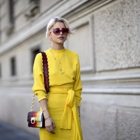 Die Trendfarbe Gelb - Unsere liebsten Looks