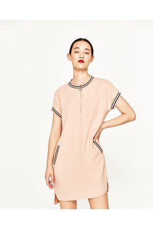 Zara TUNIKA MIT RIPPENMUSTER - In weiteren Farben verfügbar