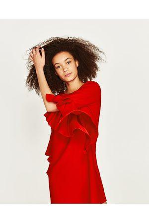 Kleider zara rot