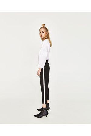 Zara CHINOHOSE MIT SEITENSTREIFEN - In weiteren Farben verfügbar