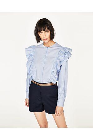 Zara BERMUDASHORTS MIT GÜRTEL - In weiteren Farben verfügbar