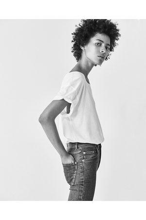 Zara VINTAGE-JEGGINGS MIT HOHEM BUND - In weiteren Farben verfügbar