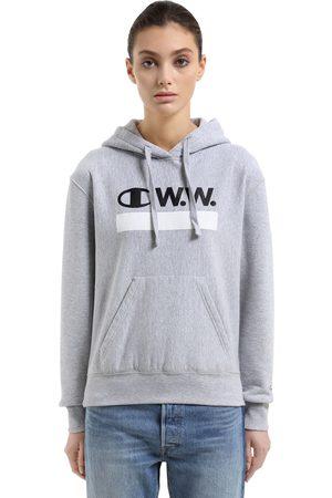 "Champion SWEATSHIRT AUS BAUMWOLLFROTTEE ""WOOD WOOD"""