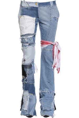 "PATCHWORK-JEANS AUS DENIM ""UP CYCLED"""