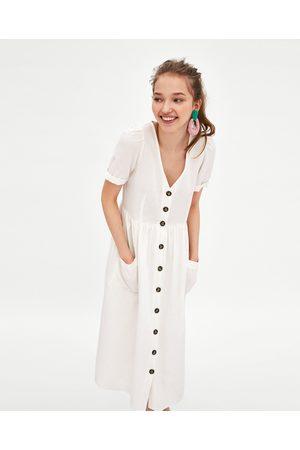 Zara Midi Kleider Fur Damen Online Kaufen Fashiola At
