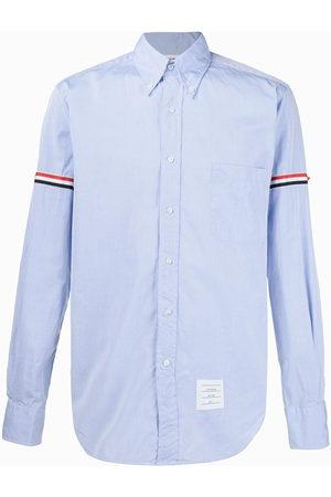 Thom Browne Hemd mit Streifen am Ärmel