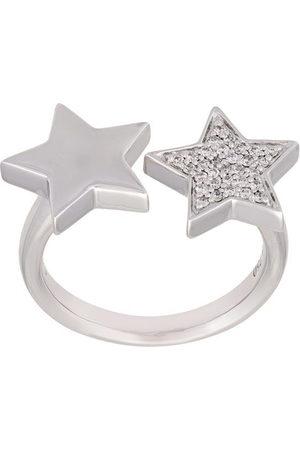 ALINKA 18kt 'Stasia' Weißgoldring mit Diamanten - Metallisch