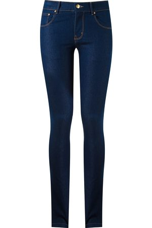 AMAPÔ Damen Skinny - Five pocket skinny jeans
