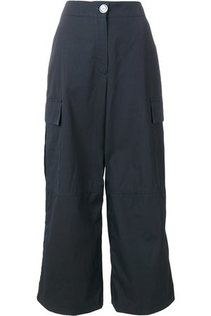 WALK OF SHAME Cargo pocket palazzo trousers