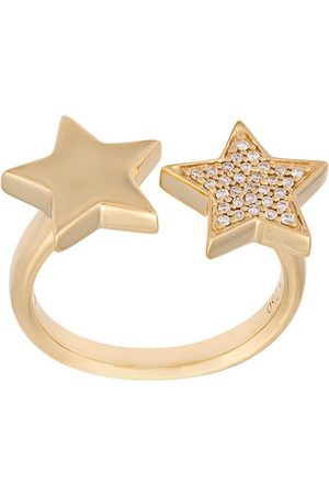 ALINKA 18kt 'Stasia' Gelbgoldring mit Diamanten - Metallisch
