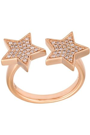 ALINKA 18kt 'Stasia' Rotgoldring mit Diamanten - Metallisch