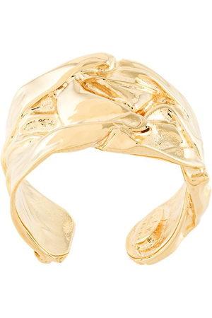 Gas Bijoux 24kt vergoldeter 'Compression' Ring - Metallisch