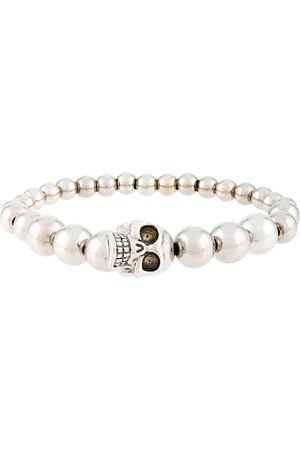 Alexander McQueen Armband mit Perlen - Metallisch