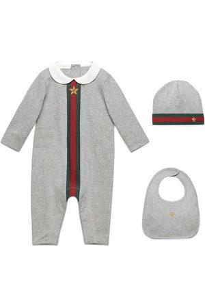 Gucci Dreiteiliges 'Baby Web' Set