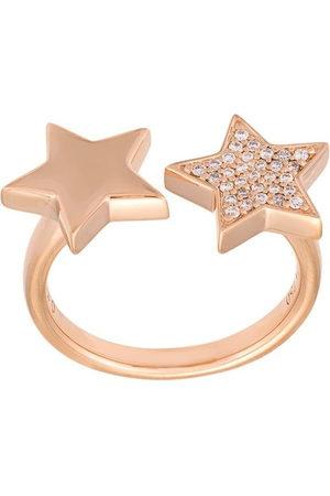 ALINKA Stasia' 18kt Rotgoldring mit Diamanten - Metallisch