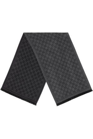 Gucci Jacquard-Wollschal mit GG-Muster
