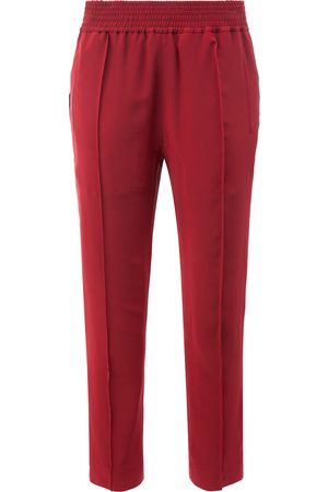 Haider Ackermann Cropped-Hose mit Stretchbund