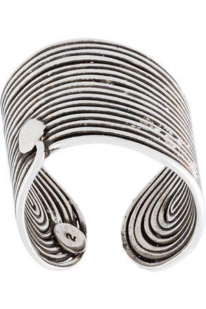 Gas Bijoux Wave' Ring - Metallisch