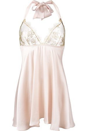 Gilda & Pearl Damen Nachthemden - Harlow' Babydoll - Nude