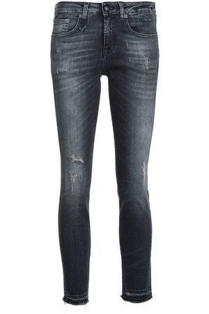 R13 Cropped-Skinny-Jeans