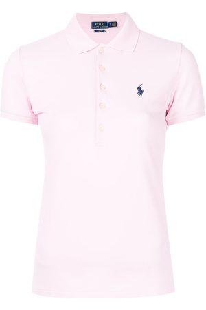 Ralph Lauren Damen Poloshirts - Poloshirt mit schmaler Passform - & Lila