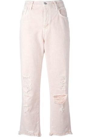 J Brand Damen Straight - Ivy' Cropped-Jeans