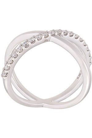 ALINKA 18kt 'Katia' Weißgoldring mit Diamanten - Metallisch