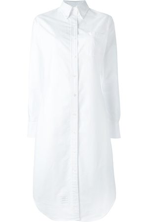 Thom Browne Knielanges Button-Down-Hemdkleid
