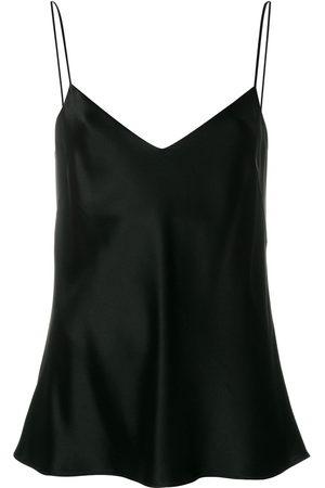 Galvan Camisole-Kleid mit V-Ausschnitt