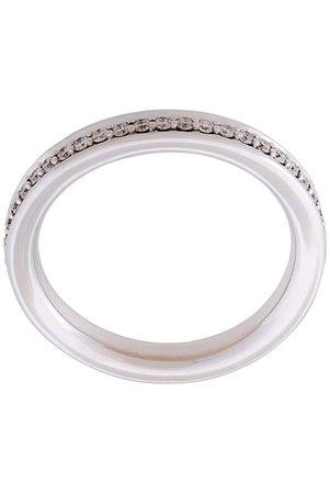 ALINKA 18kt 'Tania' Weißgoldring mit Diamanten - Metallisch