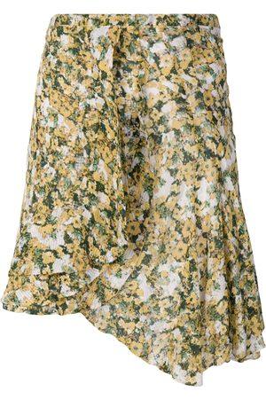 Isabel Marant Damen Bedruckte Röcke - Ferna' Minirock mit floralem Print