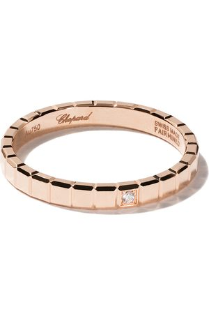 Chopard 18kt 'Ice Cube Pure' Rotgoldring mit Diamanten - Fairmined Rose