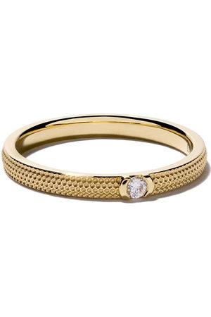 De Beers 18kt Gelbgoldring mit Diamant - Unavailable