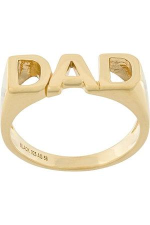 Maria Black Dad' Ring - Metallisch
