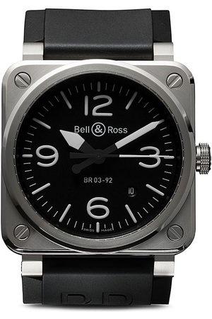 Bell & Ross BR 03-92 Steel 42mm - Black B Black