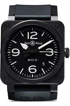 Bell & Ross BR 03-92 Black Matte, 42mm - BLACK B BLACK