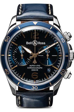 Bell & Ross BR V2-94 Aeronavale 41mm - Blue B Blue