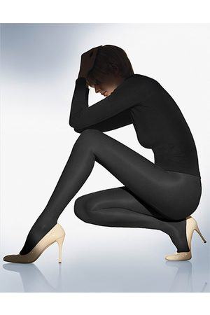 Damen Wolford Satin Touch 20 nearly black Strumpfhose 'Satin Touch 20
